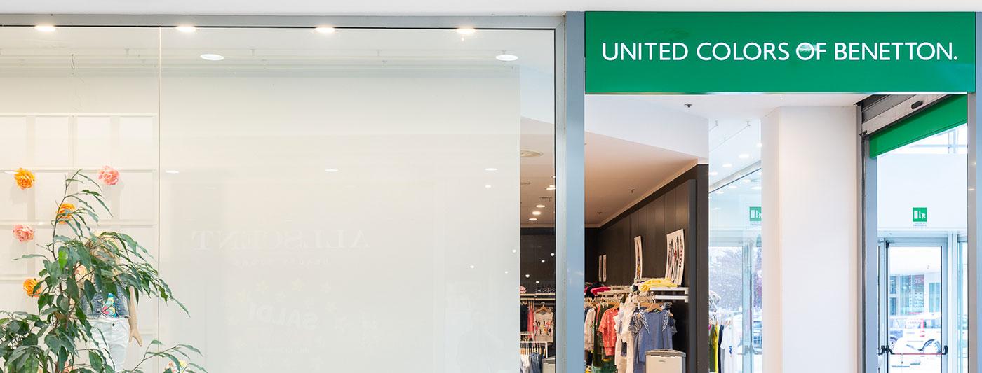 fornire un'ampia selezione di comprare bene materiale selezionato Negozio Benetton 0>12 Fermo